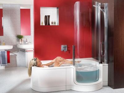 Ванна совмещенная с душем