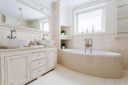 Ванная комната в стиле ретро. Как подобрать сантехнику